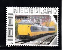 Trein, Train, Locomotive, Eisenbahn Nederland  Persoonlijke Zegel :  NS ICM  Koploper - Treni