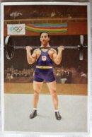 Foto Cromo Olimpiada De Los Ángeles. 1932. Nº 157. Halterofilia, Francia, René Duverger. Hecho En 1936 Olimpiada Berlín - Tarjetas