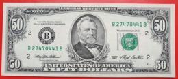 USA 50 Dollars 1993 B UNC # P- 494 B - New York NY - Biljetten Van De  Federal Reserve (1928-...)
