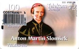 Slovenia, Slovenija, Slowenien, Telekom Slovenije - TS255. Very Rare Phonecard - Pope. Only 986 Pieces Issued. - Eslovenia