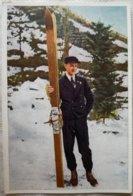 Foto Cromo Olimpiada De Los Ángeles. 1932. Nº 195. Noruega, Vinjarengen. Hecho En 1936 Para Olimpiada De Berlín Alemania - Trading Cards