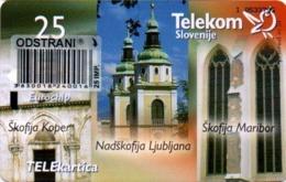 Slovenia, Slovenija, Slowenien, Telekom Slovenije - TS257. Very Rare Phonecard - Pope. Only 1.995 Pieces Issued. - Slowenien