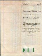 1904(2) 1905,1908,1926,1968 Property Deeds Conveyance Documents (6 Total) Chalfont St Giles, Buckinghamshire. - Historische Dokumente