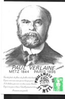 France:   Paul Verlaine (1844-1896) - Marcophilie (Lettres)