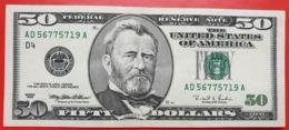 USA 50 Dollars 1996 D UNC # P- 502 D4 - Cleveland OH - Biljetten Van De  Federal Reserve (1928-...)
