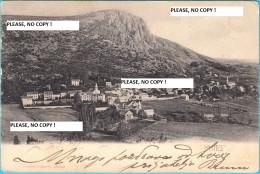 VRLIKA ( Croatia ) *  Travelled 1904. * By Giuseppe Vukovic , Editore - Croatia