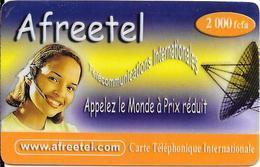 CARTE PREPAYEE -NIGER-2000FCFA--TBE-RARE - Niger