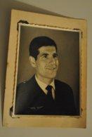 Photo Militaire Armee De L Air ? Portrait Soldat - Krieg, Militär