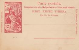 CARTE-POSTALE ENTIER UPU 10c  / 3 - Stamped Stationery