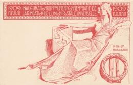 CARTE-POSTALE ENTIER 1909 UPU 10c  / 3 - Stamped Stationery