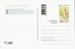 Entier / Stationery / PSC - PAP Nle Caledonie : Carte N° 104 Hommage à Notre-Dame De Paris 2019 - Prêt-à-poster