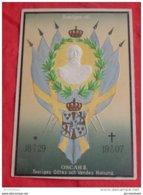 SWEDEN - SUEDE  -  Oscar II   - Roi De Suède  -  Sveriges Götes Och Vendes Konung  -  1907  - - Familles Royales