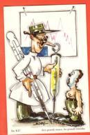 KAB-30 Illustrateur Naef Humour Militaire. Aux Grands Maux, Les Grands Remèdes. Non Circulé. Photoglob-Wehrli 688 - Künstlerkarten