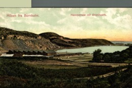 HILSEN FRA BORNHOLM HAMMERSEE MIT GRANITWERK Dänemark  Denmark Dinamarca - Dinamarca