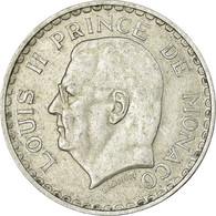 Monnaie, Monaco, Louis II, 5 Francs, 1945, Paris, TTB, Aluminium, KM:122 - Mónaco