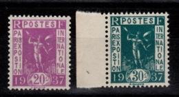 YV 322 & 323 N** Cote 5,50 Euros - France