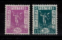 YV 322 & 323 N** Cote 5,50 Euros - Unused Stamps
