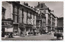 """LONS LE SAUNIER -Hôtel Moderne 26, Aristide Briand-Pub Bière De La Comète""""Slavia""""-voiture Citroen 2CV-carte Publicitaire - Lons Le Saunier"""