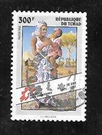 TIMBRE OBLITERE DU TCHAD DE 1992 N° MICHEL 1216 - Chad (1960-...)