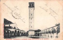 CPA Chiavenna - Campanile E Porticato Della Parrocchiale Di S. Lorenzo - Italy
