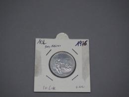 SAN MARINO 1976 10 Lires Liras XF - San Marino