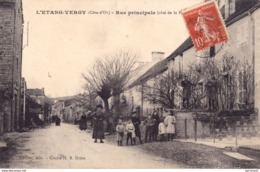 21 : L'etang Vergy : Rue Principale H.B - France