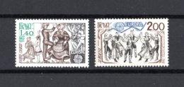 FRANCIA :   Europa-Cept 81   Folclore  2 Val. MNH** Del  4.05.1981 - 1981