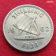 Fiji 1 One Shilling 1962 KM# 23 - Fiji