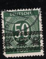 1948 Juli Zahlen Mi DE 66I SnDE 591 Yt DE-BIZ 20Q(II) Sg DE A84 Gest. O - Bizone