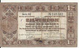 PAYS-BAS 1 GULDEN 1938 VF P 61 - [2] 1815-… : Koninkrijk Der Verenigde Nederlanden