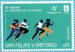 URUGUAY 2019 ** La Carrera De La Ciudad: San Felipe Y Santiago - Atletismo