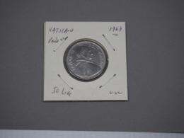 VATICAN 50 LIRE 1967 . XF - Vaticaanstad