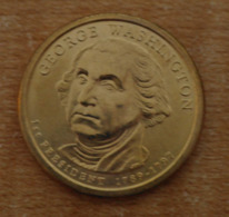 Président Georges Washington 2007 - 1 Dollars - USA - Atelier P - Federal Issues