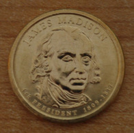 Président James Madison 2007 - 1 Dollars - USA - Atelier P - Federal Issues