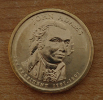 Président John Adams 2007 - 1 Dollars - USA - Atelier D - Federal Issues