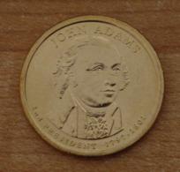 Président John Adams 2007 - 1 Dollars - USA - Atelier P - Federal Issues