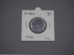San Marino 1979 Lire 50 The Bell The Colony Flower Coin  XF - San Marino