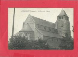 CPA  Rétrécit -  Le Ronssoy   -(Somme) -  La Nouvelle Eglise - Autres Communes