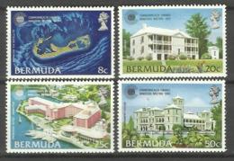 BERMUDA 1980 COMMONWEALTH FINANCE MINISTERS MEETING SET MNH - Bermuda