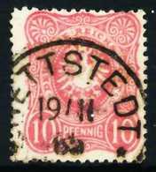 D-REICH K A Nr 41ab Zentrisch Gestempelt X68AB5A - Used Stamps