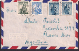 Österreich - 1954 - Brief -> Argentinien - 1945-.... 2. Republik