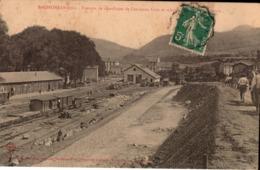 SAINT GIRONS TRAIN CHEMIN DE FER  GARE - Saint Girons