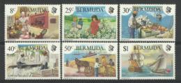 BERMUDA 1981  HERITAGE WEEK SET MNH - Bermuda