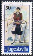 1986 - JUGOSLAVIA / YUGOSLAVIA - COSTUME DEL MONTENEGRO / COSTUME OF MONTENEGRO. USATO - 1945-1992 Repubblica Socialista Federale Di Jugoslavia