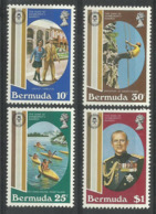 BERMUDA 1981  DUKE OF EDINBURGH AWARDS SET MNH - Bermuda