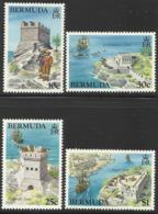 BERMUDA 1982 HISTORIC FORTS SET MNH - Bermuda