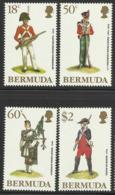 BERMUDA 1988 MILITARY UNIFORMS SET MNH - Bermuda