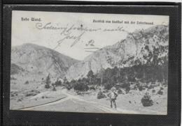 AK 0355  Hohe Wand - Ausblick Vom Stollhof Mit Der Leiterlwand - Foto Karl Schmelzer Um 1906 - Neunkirchen