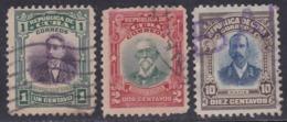 Cuba, Scott #239-240, 244, Used, Maso, Gomez, Rodriquez, Issued 1910 - Used Stamps