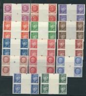 FRANCE 1941 N° Entre 505 & 525 ** Non-dentelé En Blocs De 4 B De F - No Dentado